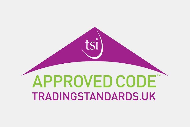 logo for TSI approved code