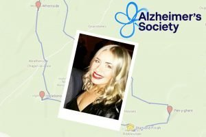 Raising money for the Alzheimer's Society