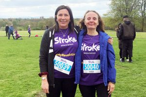 Cathryn Wolfenden stroke association run